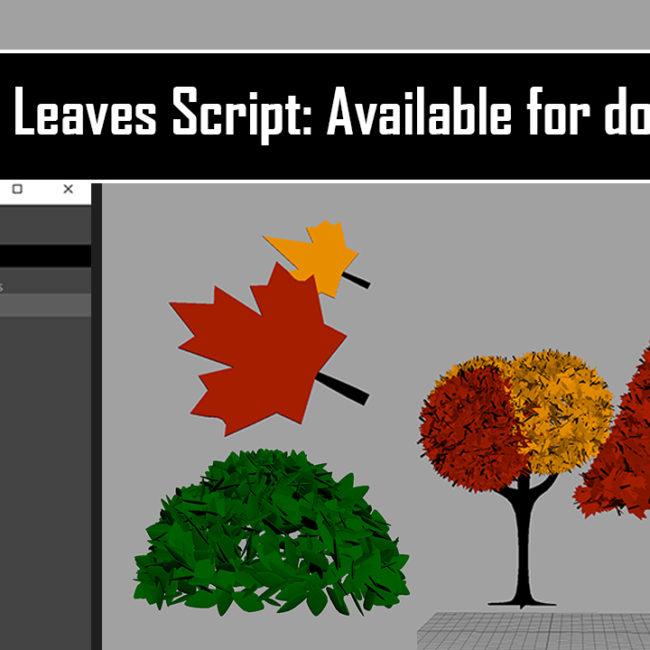 Leaves Script